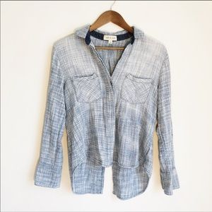 Cloth & Stone Woven Button Up